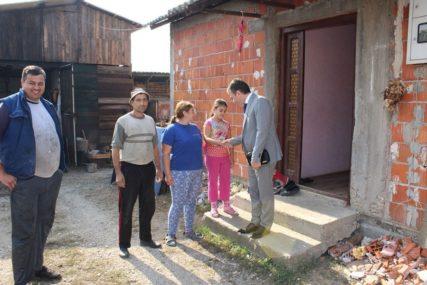 Opština pomaže izgradnju kuće porodici Đorđević iz Ugljevika