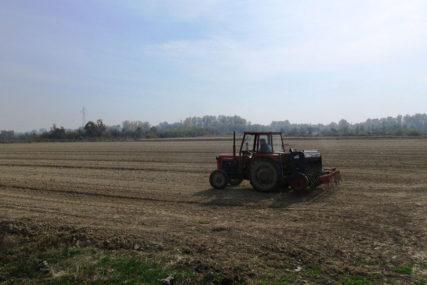 Počela sjetva pšenice na području Šamca