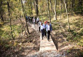 ZONA ZA ODMOR Nagrada projektu park - šume u Trapistima
