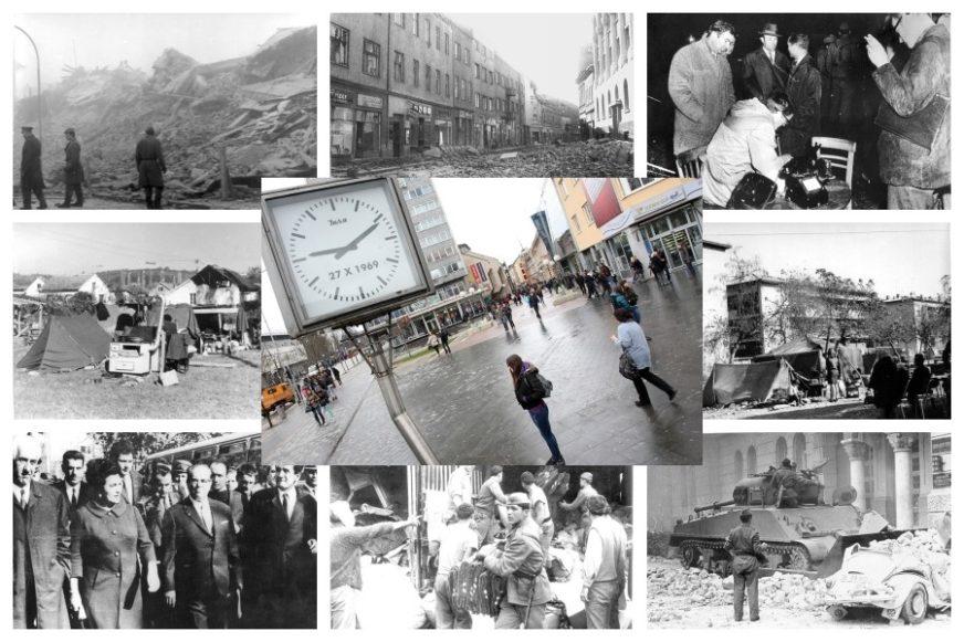 Izložba u Banskom dvoru povodom obilježavanja 50 godina od zemljotresa u Banjaluci