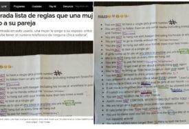 """INTERNET MU PORUČIO """"BJEŽI"""" Djevojka napisala momku 22 pravila koja će vas NASMIJATI DO SUZA"""