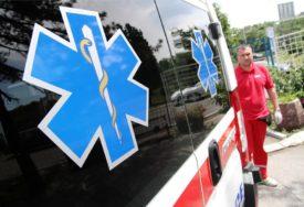 TEŠKA SAOBRAĆAJNA NESREĆA Tri osobe povrijeđene kod Žepča prebačene u bolnicu