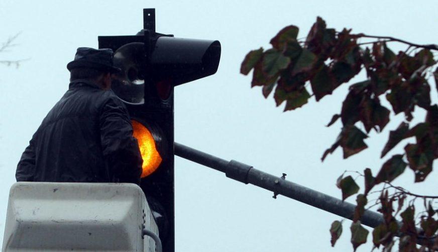KVAR Ne rade semafori u centru grada
