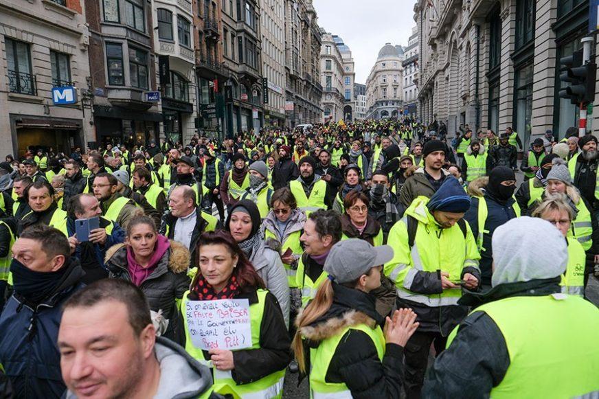 """OPONAŠALI FRANCUZE Portugalski pokret """"žutih prsluka"""" doživio KRAH"""