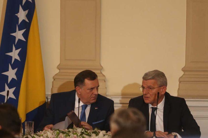 Džaferović: Han treba da zna - nije problem u meni i Komšiću, već u Dodiku