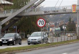 USPJELA POBUNA VOZAČA Brzina na zapadnom tranzitu ponovo vraćena na 70 kilometara na čas (VIDEO)