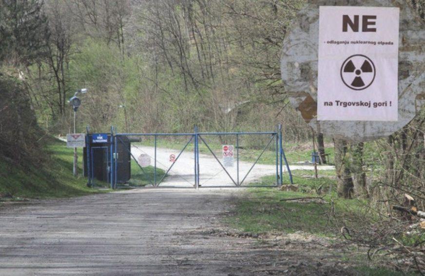 Drljača: Hrvatska ne odustaje od odlagališta nuklearnog otpada na Trgovskoj gori