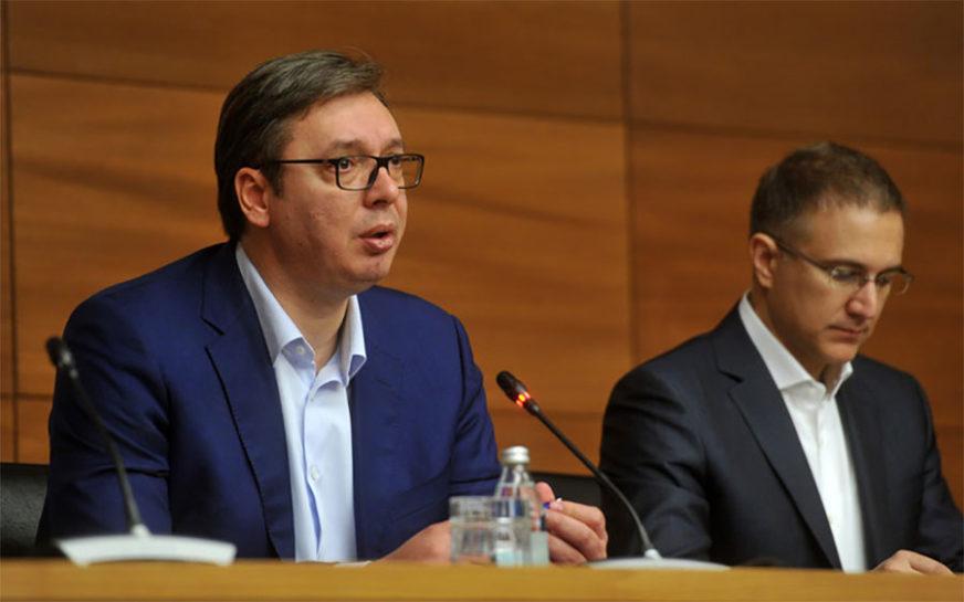 """""""GLAS SRBIJE DANAS SE DALEKO ČUJE"""" Vučić poručio da se zalaže za razgraničenje sa Kosovom"""
