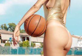 POZIRA I U KADI Lijepa košarkašica provokativnim fotografijama mami fanove (FOTO)