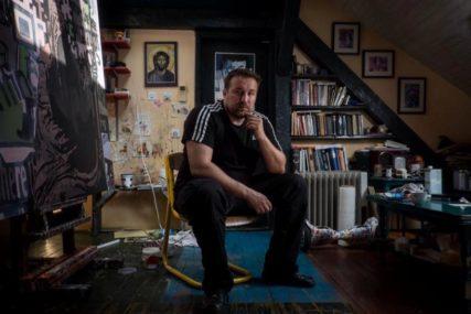 Izložba Vladislava Šćepanovića u Banskom dvoru: Umjetničko razaranje kao oblik stvaranja