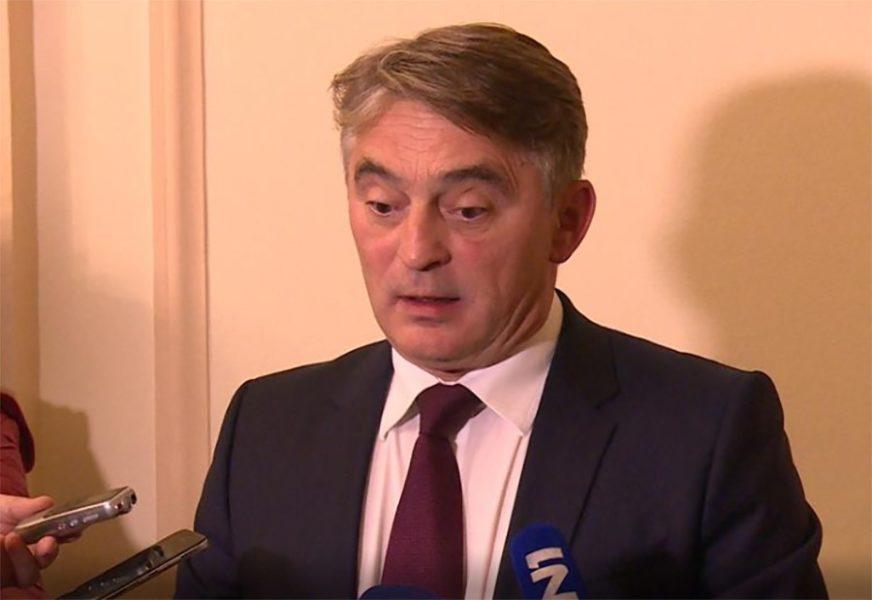 """""""MI ĆEMO SE DOGOVORITI"""" Komšić istakao da će se o sudbini BiH odlučivati u BiH"""