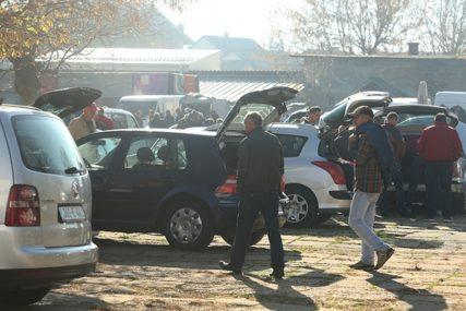 REAGOVALI INSPEKTORI Zatvorena auto-pijaca zbog nepoštivanja epidemioloških mjera