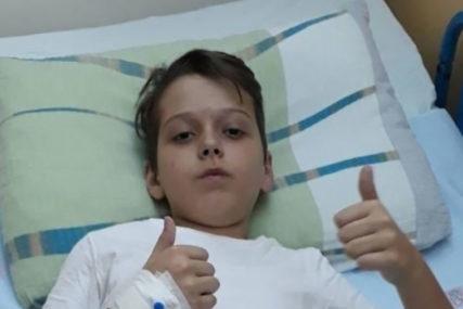 DJEČAK IZ SARAJEVA U BORBI SA OPAKOM BOLEŠĆU Emin (11) primio prvu hemoterapiju, i dalje TREBA POMOĆ dobrih ljudi