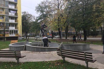 NA PAUZI DO PROLJEĆA Gradske fontane pripremljene za zimu