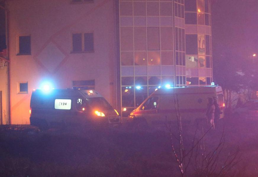 BUKTI VATRA U TRNU Gori skladište plinskih boca, zbog požara došlo i do LANČANOG SUDARA (VIDEO, FOTO)