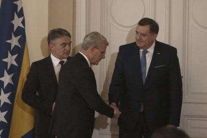 Džaferović optužio Dodika za opstrukciju