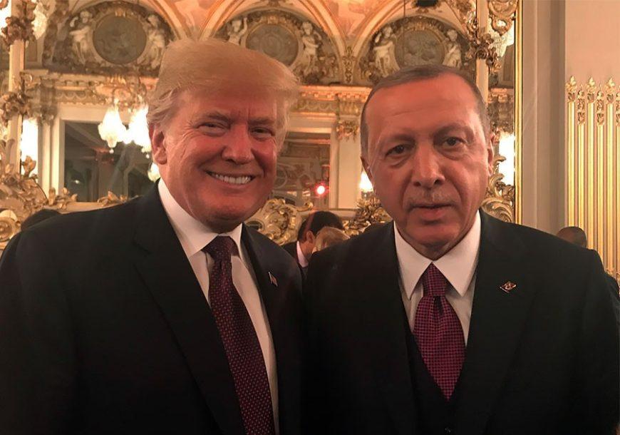 NE MARI ZA NJEGOVE RIJEČI Erdogan Trampovo pismo BACIO U KANTU ZA SMEĆE i naredio napade