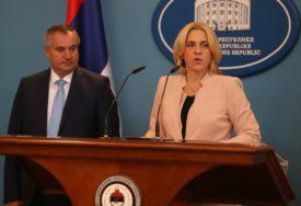 Cvijanovićeva i Višković UPUTILI TELEGRAME SAUČEŠĆA povodom pogibije pilota u Srbiji