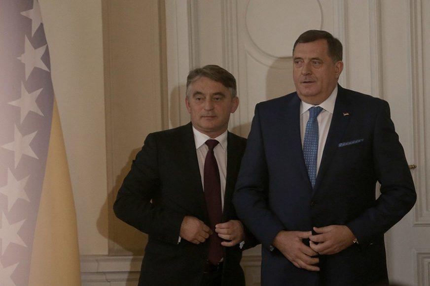 """KOMŠIĆ ODGOVARA DODIKU """"Neka bude protv NATO, samo neka kao i do sada potpisuje odluke"""""""