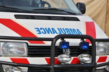 TRAMVAJ PJEŠAKU OTKINUO STOPALO Nesrećni muškarac prevezen u Urgentni centar