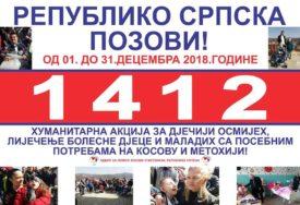 Humanitarni broj 1412 produžen do 31. januara