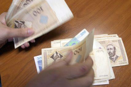 CILJ DOSTIĆI 1.000 KM U februaru zabilježena najveća prosječna plata od kada postoji Srpska