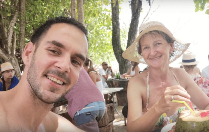 KAKO SAM ODVEO MAJKU NA SEJŠELE Mladi Banjalučanin pokazao da nije samo svjetski putnik i poliglota nego i pažljiv sin (VIDEO)