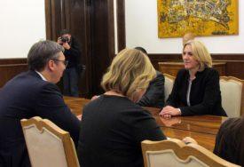 Željka Cvijanović uputila telegram saučešća Aleksandru Vučiću