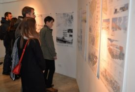 """Radovi studenata predstavljeni na izložbi """"Arhitektura: 22 godine"""""""