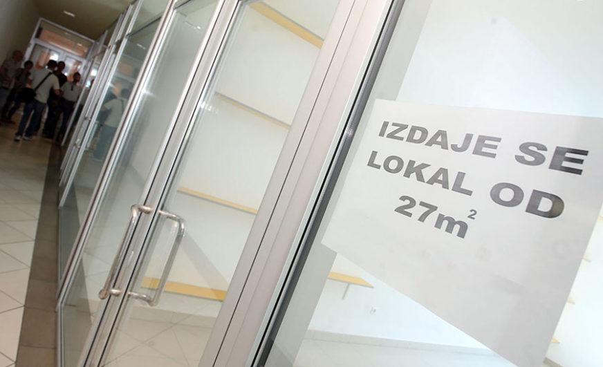 Grad Banjaluka nudi u zakup deset poslovnih prostora