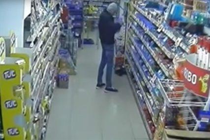 TERORIŠE RADNICE Policija krenula u lov na razbojnika koji oštricom noža udara u pultove i otima novac