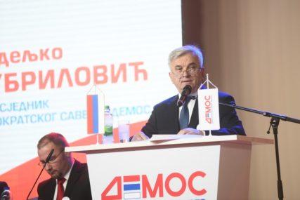 OČEKUJE DOBRE REZULTATE Čubrilović: DEMOS spreman za izbore