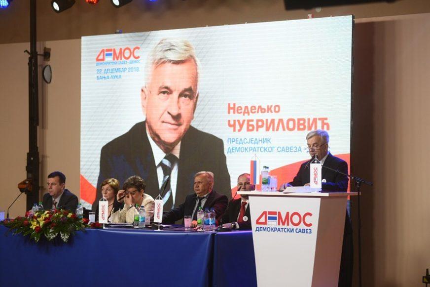 """SAZNAJEMO """"Demos"""" bira rukovodstvo: Stevanovićeva zamjenik predsjednika, Bosančić generalni sekretar"""