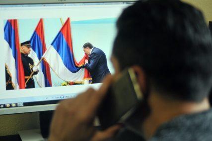 U toku rad na otkrivanju osoba koje su iz Belgije prijetile Dodiku