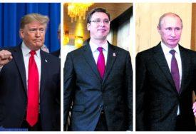 DOGOVORI SA SVJETSKIM LIDERIMA Nakon sastanka sa Putinom, Vučić u subotu sa Trampom
