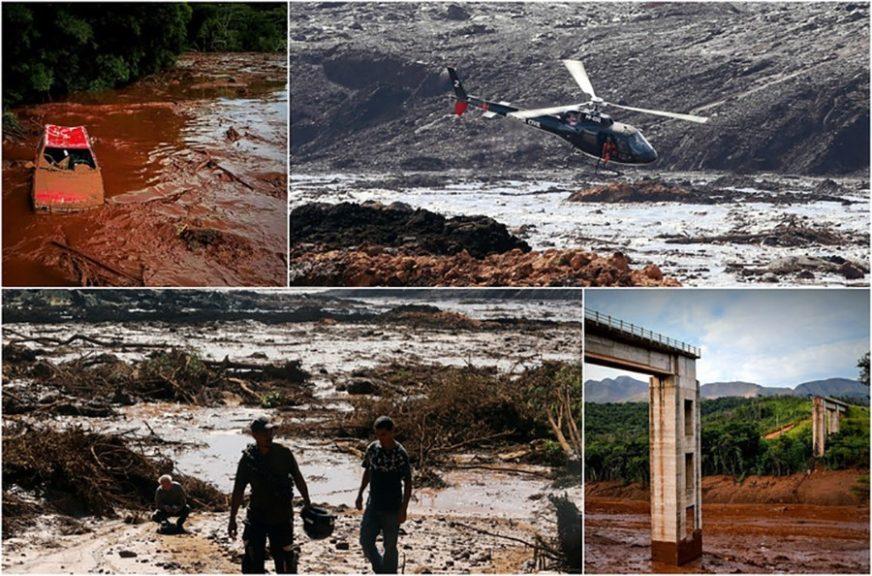 Broj žrtava usljed pucanja brane u Brazilu porastao na 65, više stotina ljudi nestalo
