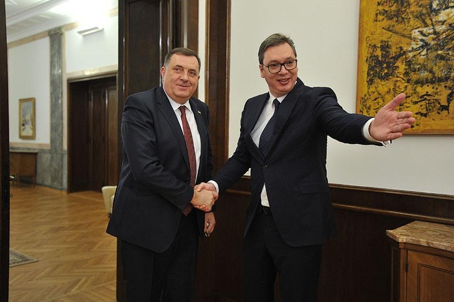 SRPSKOJ PUTEVI, VUČIĆU DODIKOVA PODRŠKA Šta je donio Sporazum o specijalnim paralelnim vezama