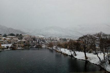 HERCEGOVINA OKOVANA LEDOM I SNIJEGOM Temperature ispod nule i na krajnjem jugu Srpske