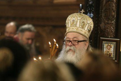 Sveta arhijerejska liturgija: Mitropolit Hrizostom služi na Sokocu