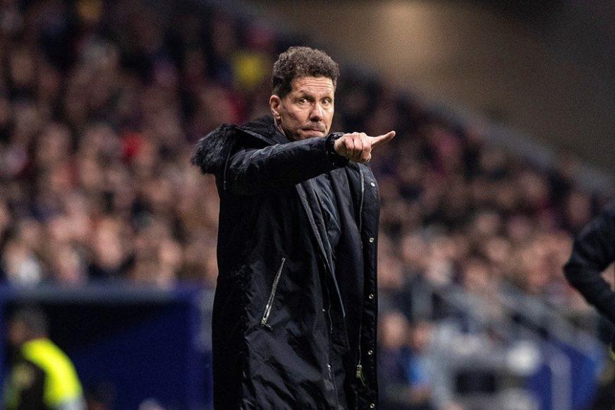 """HTIO SAM DA POKAŽEM NAVIJAČIMA DA IMAMO MU**"""" Simeone objasnio zbog čega je ONAKO proslavio rušenje Juventusa"""
