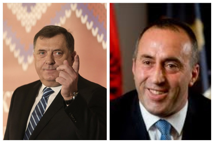 """""""NISAM ZNAO DA JE ČUO ZA MENE, ALI…"""" Dodik je ovako odgovorio na prozivke Ramuša Haradinaja"""
