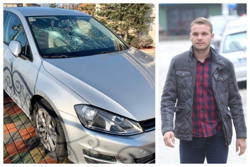 "STANIVUKOVIĆU UNIŠTEN AUTO ""U šoku sam, prvi put da nemam komentar"" (FOTO)"