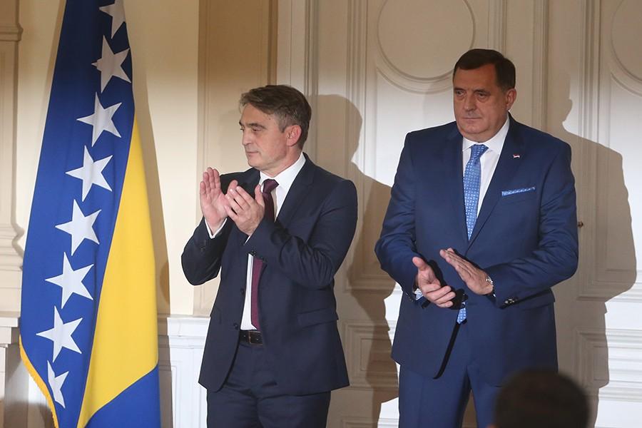 URADIO KAKO JE I NAJAVIO Komšić podnio KRIVIČNU PRIJAVU protiv Dodika
