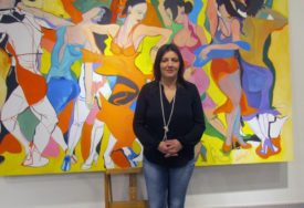 Natalija Cimeša: Umjetnost je ili svjetska ili nije umjetnost