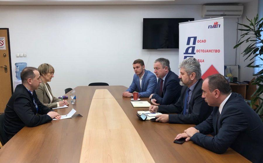 PDP upoznao OEBS o ugrožavanju bezbjednosti Stanivukovića