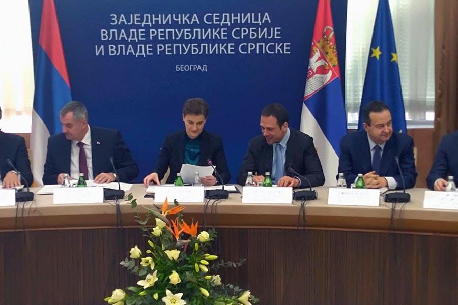 SPORAZUM O SARADNJI Vlade Srbije i Republike Srpske potpisale četiri memoranduma