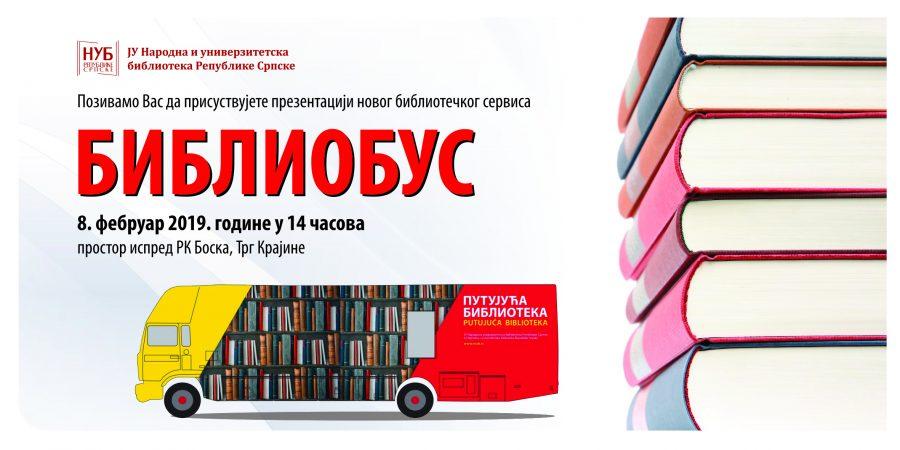 KNJIGE I ČASOPISI UBUDUĆE NA TOČKOVIMA Prezentacija bibliobusa na Trgu Krajine