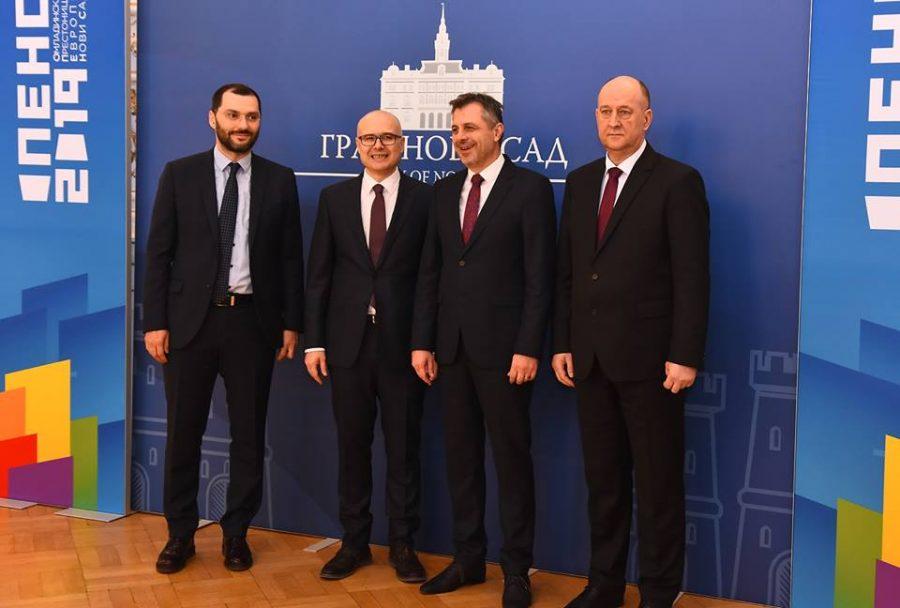 Radojičić na proslavi Dana Novog Sada: Nadam se da ćemo ići stopama ovog grada