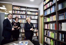 """Obnovljena čitaonica """"Gete instituta"""" u NUB RS, mjesto za druženje i razmjenu znanja"""