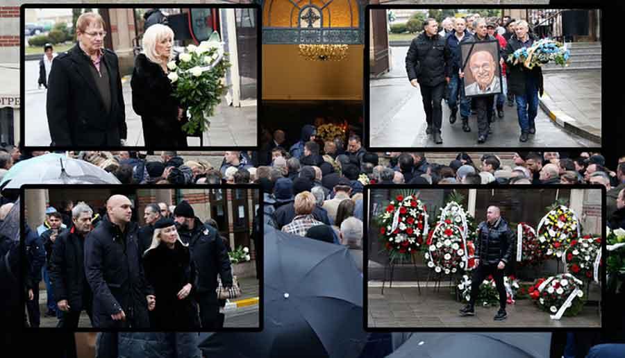 TUGA PARA NEBO Porodica i prijatelji Šabana na groblju, svi ZANIJEMILI kada je stigao vijenac od pokojnog Mirsada